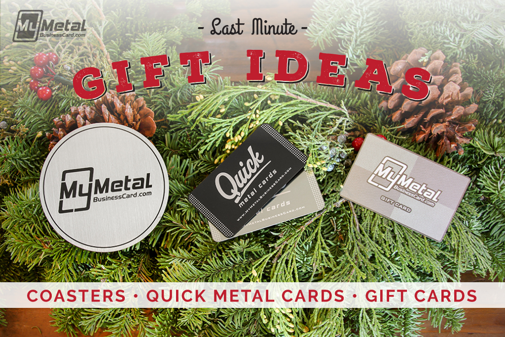 My Metal Business Card |Mmbc Last Minute Gift Ideas