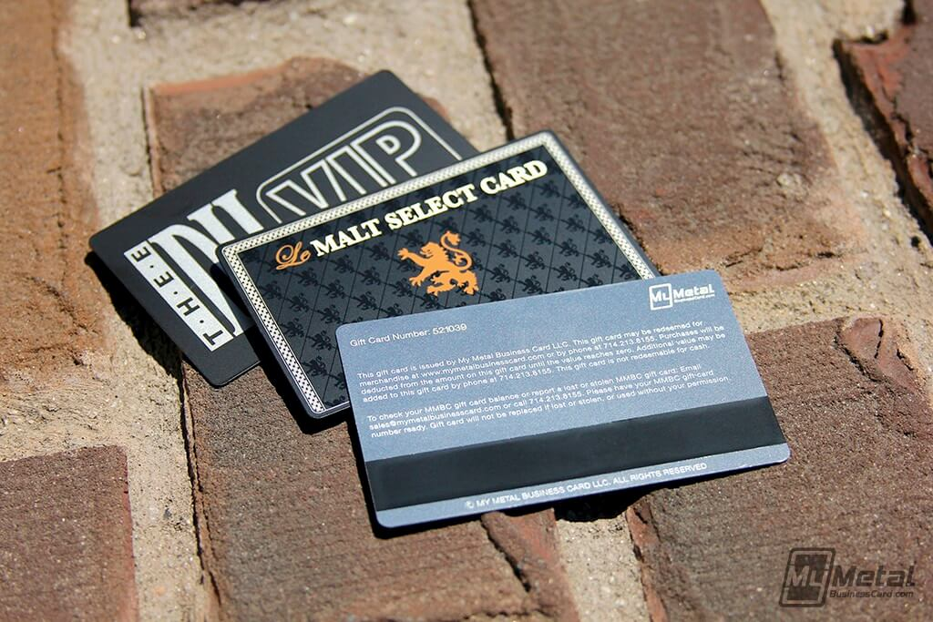 My Metal Business Card |Mmbc Metal Giftcards